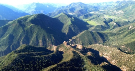thompson divide aerial