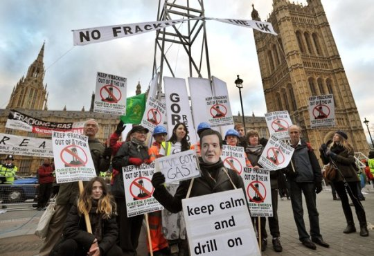 fracking-protests UK