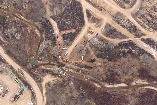 [Photos of the Parachute Creek cleanup courtesy of Bruce Gordon, EcoFlight]