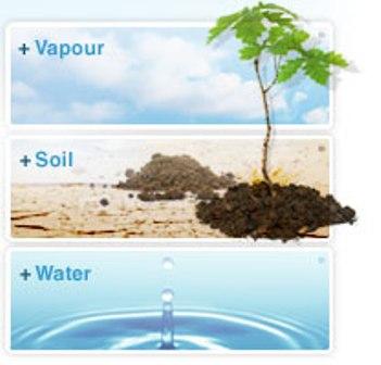water-soil-vapor