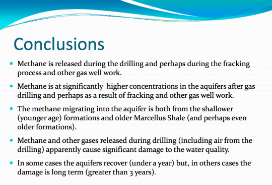 Methane pollution slide