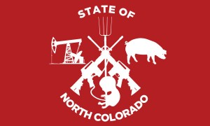 One of several proposed North Colorado state flags [courtesy Progress Now]