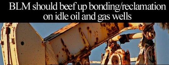 reclamation gas wells