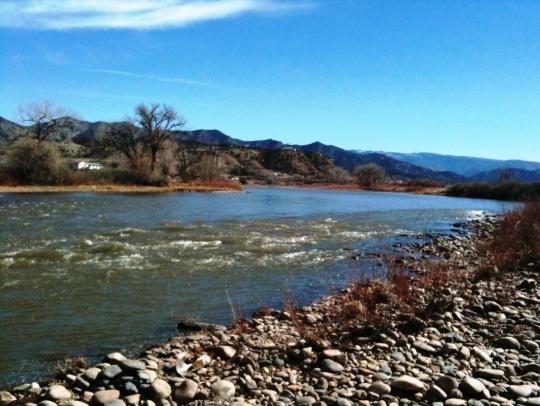 Colorado River in Silt