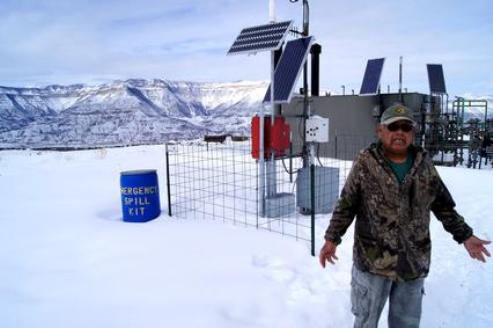 Robert Ramos wonders why Noble Energy didn't notify him of a spill on his property over 4 years ago.