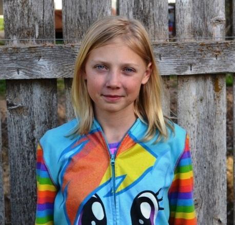 Hailey Kwiatkowski (age 12)