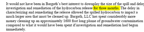 Source: Email, pg.2, from Kent Kuster, Oil and Gas Liaison, CDPHE to Bob Arrington on June 12,2014, in response to prior email of Bob Arrington to CDPHE on June 2, 2014, with an attachment