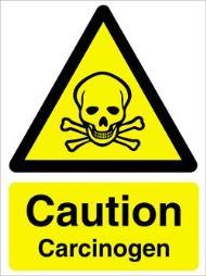 Caution carcinogen