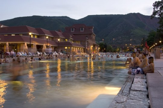 Glenwood Hot Springs therapy pool