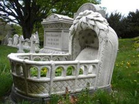 infant gravesite