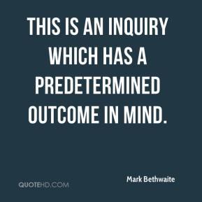 Predetermined quote
