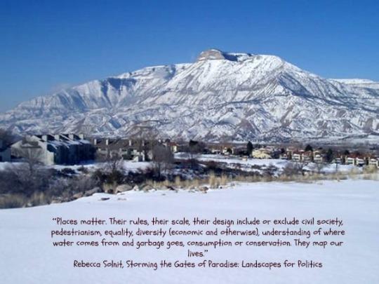 Battlement Mesa winter quotation