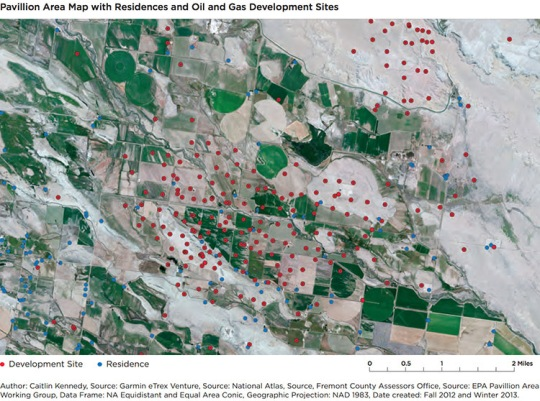 Fracking In Wyoming Map.First Biomonitoring Study Links Fracking Air Pollution To Human