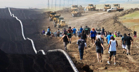 DAPL destruction [Source: Counter Current News]